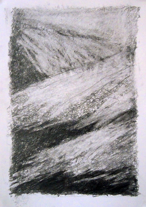 4-fresh-snow-the-ochils-graphite-stick-on-paper-2013