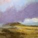 1 'Towards Canisp, Assynt', Oil on canvas, 2017, 80 x 80 cm