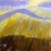 \'Early September, Beinn a\'Ghlo\', Acrylic & Pastel, 2009, 30 x 30cm