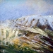 ´Early Snow, Glen Shee´ Acrylic-oil-2006-30-x-30cm
