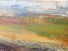 \'Above Dalwinnie\', Acrylic & Pastel, 2008, 75 x 23cm