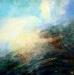\'Highland scene, IV\', Acrylic & Oil, 2005, 30 x 30cm,