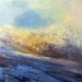 \'Snowline\', Acrylic & Oil, 2005, 30 x 30cm, Sold