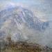 \'Beinn Liath Mhor\', Acrylic & Pastel, 2008, 30 x 30 cm