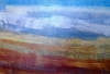 \'Towards Ben Wyvis\', Acrylic & Pastel, 2008, 53 x 38 cm