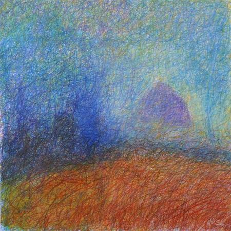 'Ailsa Craig', Pastel, 2004