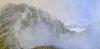 \'On Beinn Liath Mhor\' acrylic-pastel-2010-60-x-30-cm