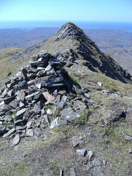 ´From the summit, Ben Stack'