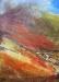 \'The Auch Gleann and Beinn Mhanach, November\', Acrylic & Pastel, 80 cm (w) x 110 cm (h)