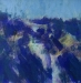 \'Frozen crag, Beinn an Dothaidh\', Acrylic, 2005, 30 x 30 cm