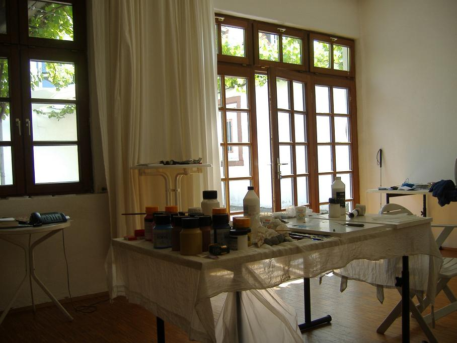My studio in Speyer Sämergasse