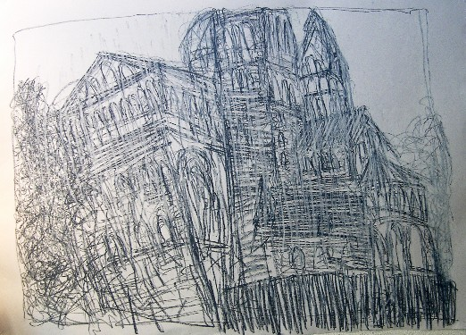 new-drawing-the-cathedral-speyer-140-x-100-cm