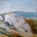 'Shore line, Glenelg', Acrylic & Pastel, 2008, 30 x 30cm