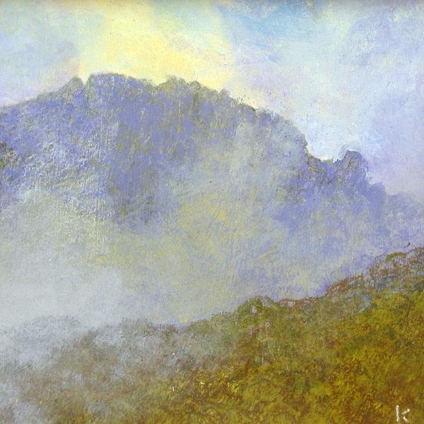 104-from-beinn-a-chliabhain-isle-of-arran-acrylic-pastel-2009-30-x-30cm