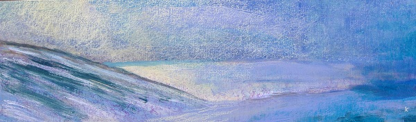 108-west-above-the-blackwater-reservoir-acrylic-pastel-2009-76-x-23cm
