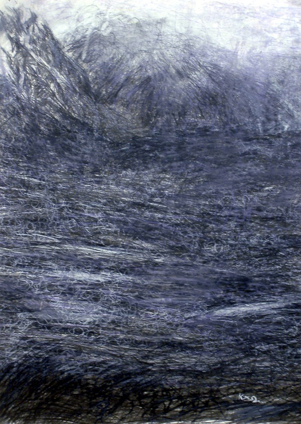 115-december-afternoon-glen-etive-graphite-pencil-white-pastel-50cm-w-x-70cm-h