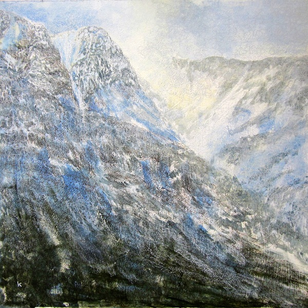 237-a-freezing-february-afternoon-beinn-an-dothaidh-acrylic-pastel-2012-80-x-80-cm