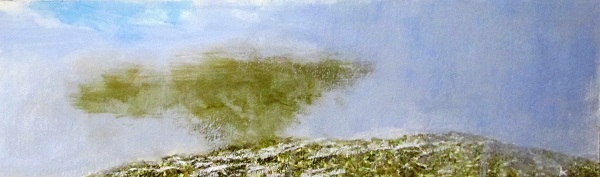 245-break-in-the-cloud-beinn-griam-beg-sutherland-acrylic-pastel-2012-76-x-23-cm