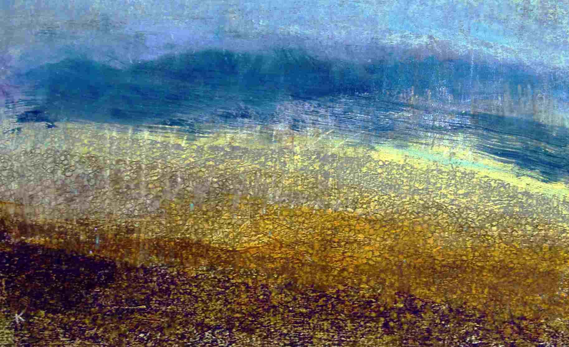 65-sunlight-stones-beinn-a-ghlo-acrylic-pastel-2007-58-x-34cm