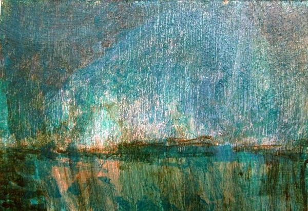 dusk-on-rannoch-moor-acrylic-pastel-2012-210-mm-x-148-mm