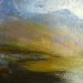 318 'Early evening, below Canisp', Acrylic & Pastel, 2014, 30 x 30 cm.jpg