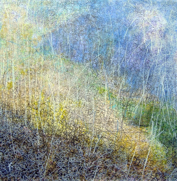 29 'In the glen', Acrylic & Pastel, 45 x 48 cm, 2006,