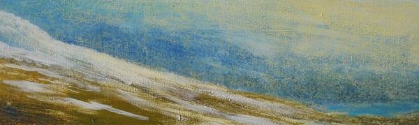 201-winter-afternoon-above-loch-ericht-acrylic-pastel-2011-76-x-23-cm