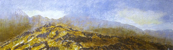 269-from-ghlas-beinn-december-afternoon-acrylic-pastel2013-76-x-23-cm