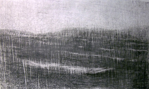 3-approaching-harris-a-damp-may-evening-graphite-on-paper-2013