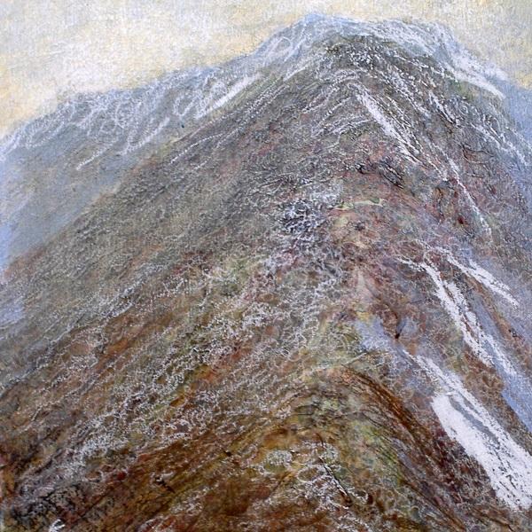 'Mists, Am Bodach', Acrylic & Pastel, 2008, 30 x 30 cm