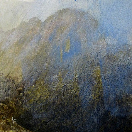 1 'Below Suilvern, a wet afternoon', Work in progress