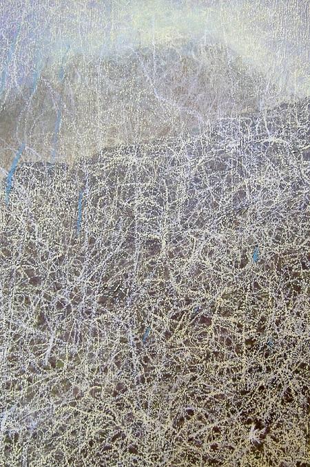 91s 'Glen Coe', Acrylic & Pastel, 2008, 20 x 32 cm