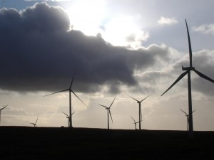 Wind Farm on Eaglesham Moor - Scotland