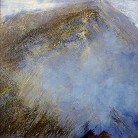 'Breaking cloud, Am Bodaach', Acyrlic & Pastel, 2010, 80 x 80 cm