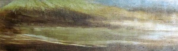 'Towards Blackmount, winter'