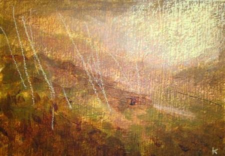 'Early morning mists, Glen Falloch'