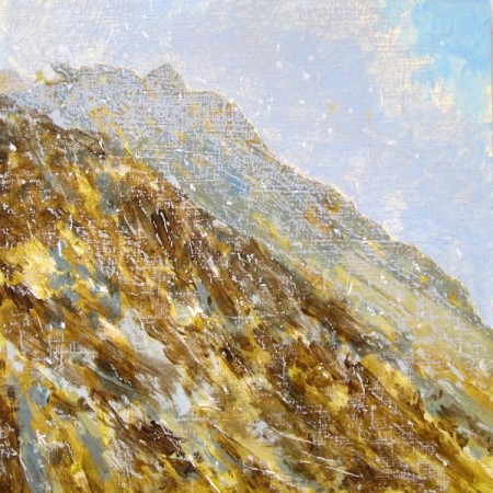 'Approaching snow shower, Ben Loyal, Sutherland'