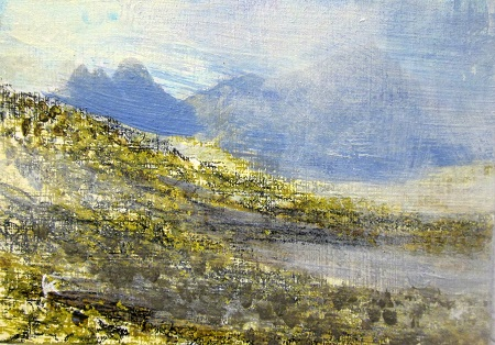 'Approaching shower, Assynt'