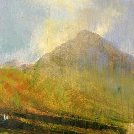 'Passing shower, Isle of Arran'