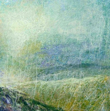 'Below Liathach, Torridon', Acrylic & Pastel, 2006
