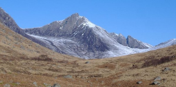Arran: Scottish Mountain: Cir Mhor
