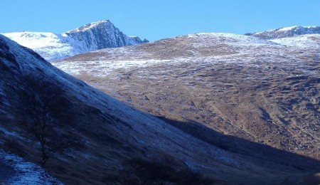 Arran: Scottish Mountains: Glen Rosa, Isle of Arran