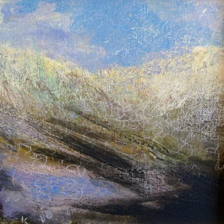 'Late winter afternoon, west Highlands', Acrylic & Pastel, 2009, 30 x 30 cm