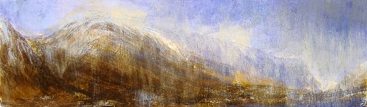 'Between Creise and the Buachaille, winter'