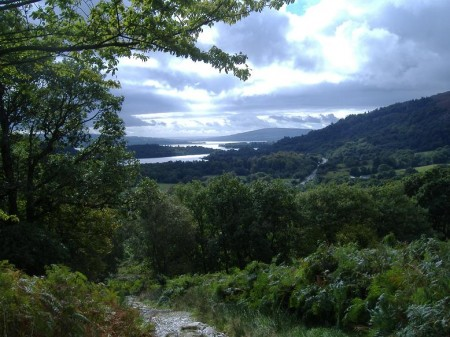 Near the starting point for Beinn Dubh