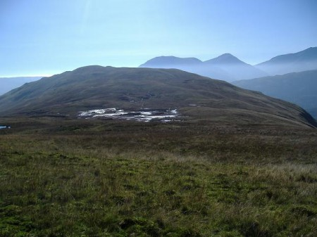 On the ridge to Meall Buidhe