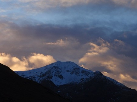 Dusk, Ben Lui from Cononish