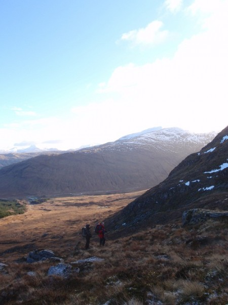 View from the coire Ben Chuirn