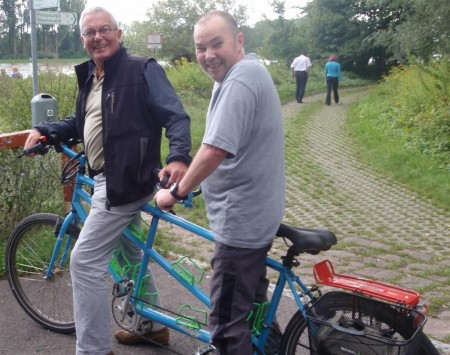 Mike,me and the tandem - fun days in Speyer