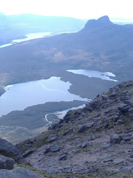 West from Cul Mor, Assynt